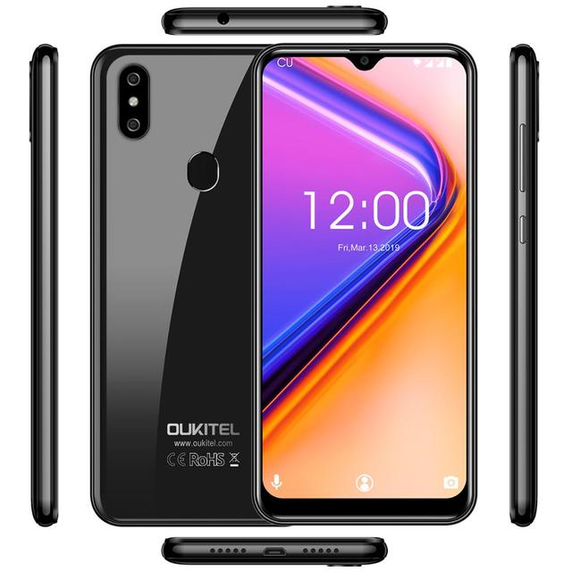 OUKITEL C15 Pro+ 6.088'' 19:9 Cellphone  Android 9.0 Pie 3GB 32GB MT6761 Waterdrop Smartphone Face ID 5G WiFi 4G Mobile Phone 4