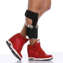 Ankle Holster for Concealed Carry Elastic Secure Strap Leg Pistol Gun Holster Leg Pocket Revolvers Handgun Pouch(China)