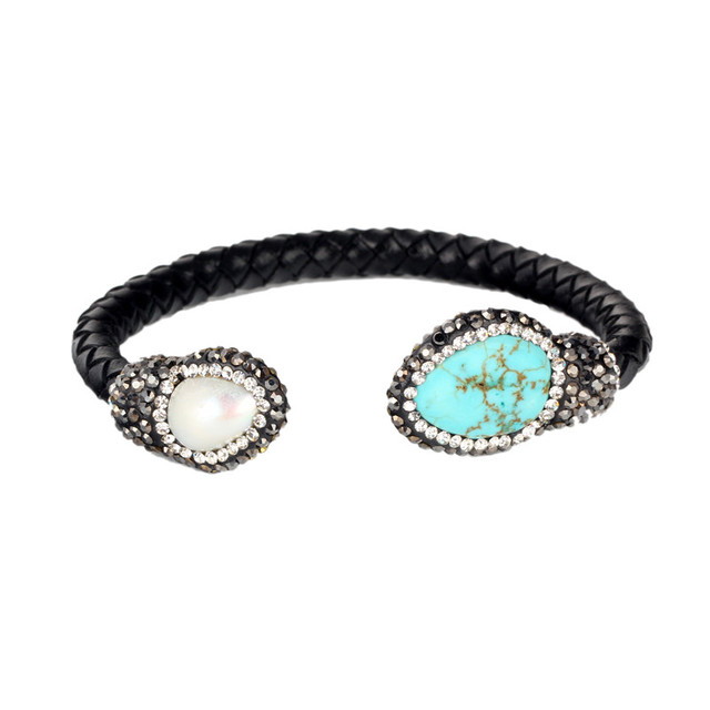 Black Snakeskin Bangle...