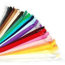 Suoja 100 шт Разноцветные нейлоновые катушки молнии Портной Швейные Инструменты Аксессуары для одежды 8 дюймов