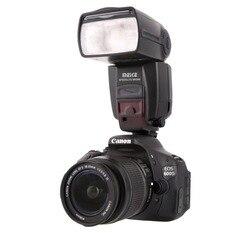 MEKE MK600 1/8000s sync TTL Speedlight Camera Flash for Canon 1300D 70D 6D 5DII 5DIII 7D 60D 550D 600D 650D 800D+diffuser/caddy