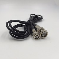 BNC Connection Cable for Ultrasonic Flaw Detector(Q9-Q6)  Connector BNC TO Q6