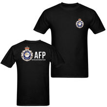 2019 Funny Australian Federal Police Mens T Shirt Double Side Unisex Tee