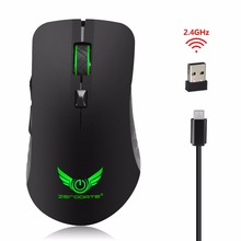 2.4Ghz Wireless Mouse Optical Ergonomic Mouse 10Meters With 7colorful light for PC Computer MAC Windows 10 logitech m220 wireless gaming mouse high quality optical ergonomic pc game mouse for mac os window support office test
