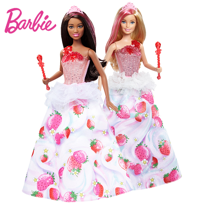 Barbie Dreamtopia Series Doll Toy Beautiful Princess Sweet Girl Doll Barbie with Skirt Doce menina For Birthday Gift DYX27