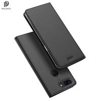 Oneplus 5T Case DUX DUCIS Luxury Leather Case For OnePlus 5T Wallet Flip Cover For One