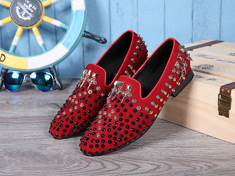 Compare Prices on Mens Red Dress Shoes- Online Shopping/Buy Low ...