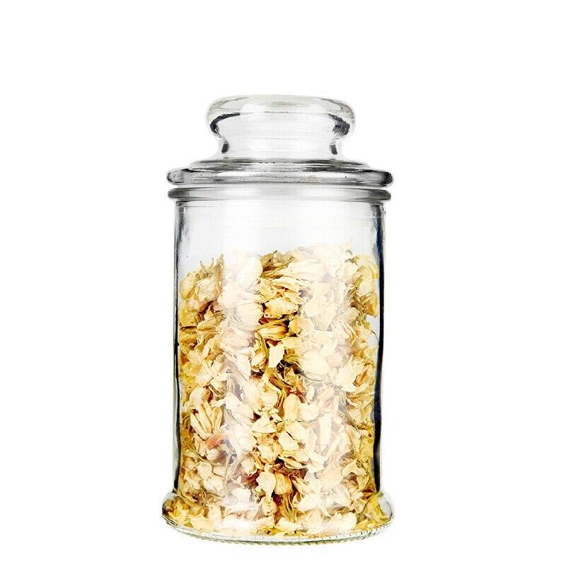 Frasco vidrio perfect frasco tarro de vidrio con tapa de - Tarros de cristal con tapa ...