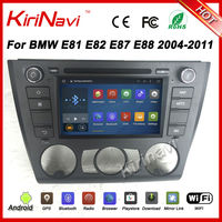 KiriNavi Android 7.1 For BMW 1 Series E81 E82 E87 E88 2004 2012 android Car radio (Fit on Manual Air conditioner Model only)
