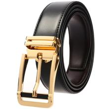 Genuine Leather Belts High Recommend Mens Retro Pin Buckle Waistband Real Cowskin Belt Dazzling Designer Men Jeans