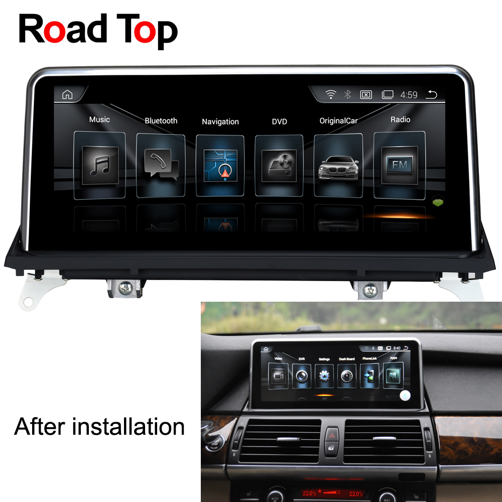 Road Top 10 25 Android Car Multimedia font b Radio b font GPS Navigation Head Unit