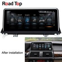 """Carreteras Top 10.25 """"Android car multimedia Radios Unidad de navegación GPS pantalla Monitores para BMW X5 E70 2007- 2013×6 E71 2007-2014"""