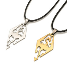 European and American Popular Dinosaur Pendant Necklace Action Figure Dragon Pendant Necklace 1pcs Free Shipping