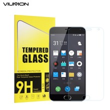 VIUMON M2 Word Tempered Glass Excessive High quality Entrance Movie for Meizu M2 Word Display Protector Anti Scratch Explosion with Retail