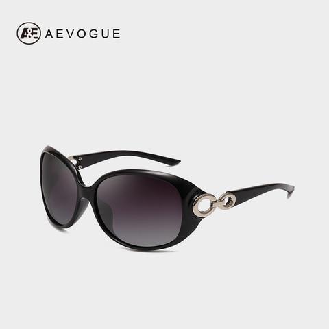 AEVOGUE Polarized Sunglasses Women Oversize Vintage Shield Frame Classic Brand Designer Sun Glasses UV400 AE0691 Lahore