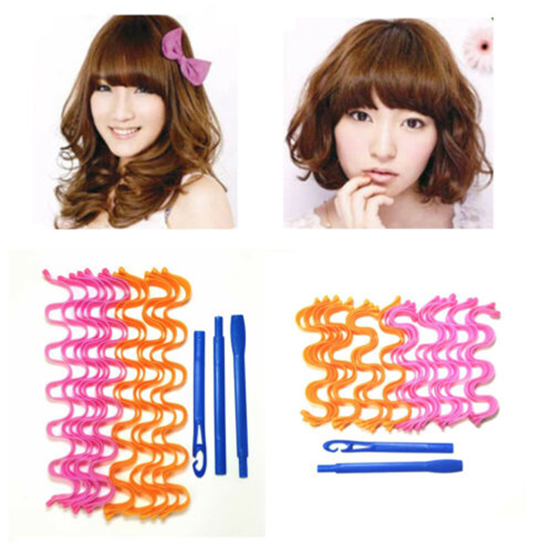 Headwear Curlers Formers Leverage Magic Hair DIY Long Wave Spiral Ringlets New-Fashion