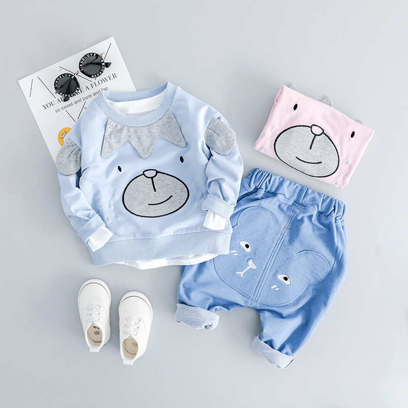 New arrived Baby Boys Clothing Cartoon Long Sleeve Tops Sweater + Pants Set for newborn Baby Boys Outfits sportswear Clothes SetNew arrived Baby Boys Clothing Cartoon Long Sleeve Tops Sweater + Pants Set for newborn Baby Boys Outfits sportswear Clothes Set