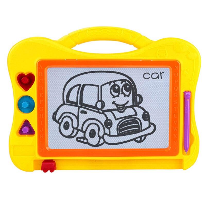 2019 Nieuwe Stijl Hot Koop Vroege Onderwijs Puzzel Speelgoed Kinderen Magnetische Tekentafel Leren Tekening Schrijven Kunsten Speelgoed Modieuze En Aantrekkelijke Pakketten