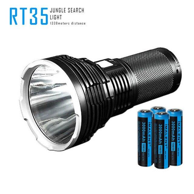 IMALENT RT35 Cree Xhp35 Oi Lanterna Led de Carregamento Usb Luz Da Tocha Busca Da Selva Sobrevivência de Longa Distância À Prova D' Água 18650 Li-ion