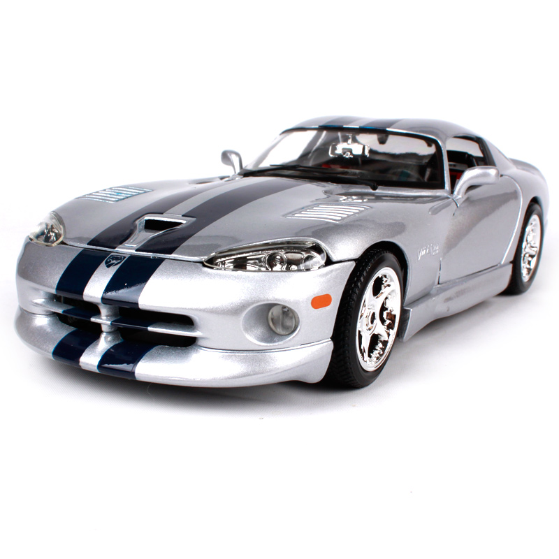цена на Maisto Bburago 1:18 DODGE VIPER GTS COUPE Sports Car Diecast Model Car Toy New In Box Free Shipping 12041