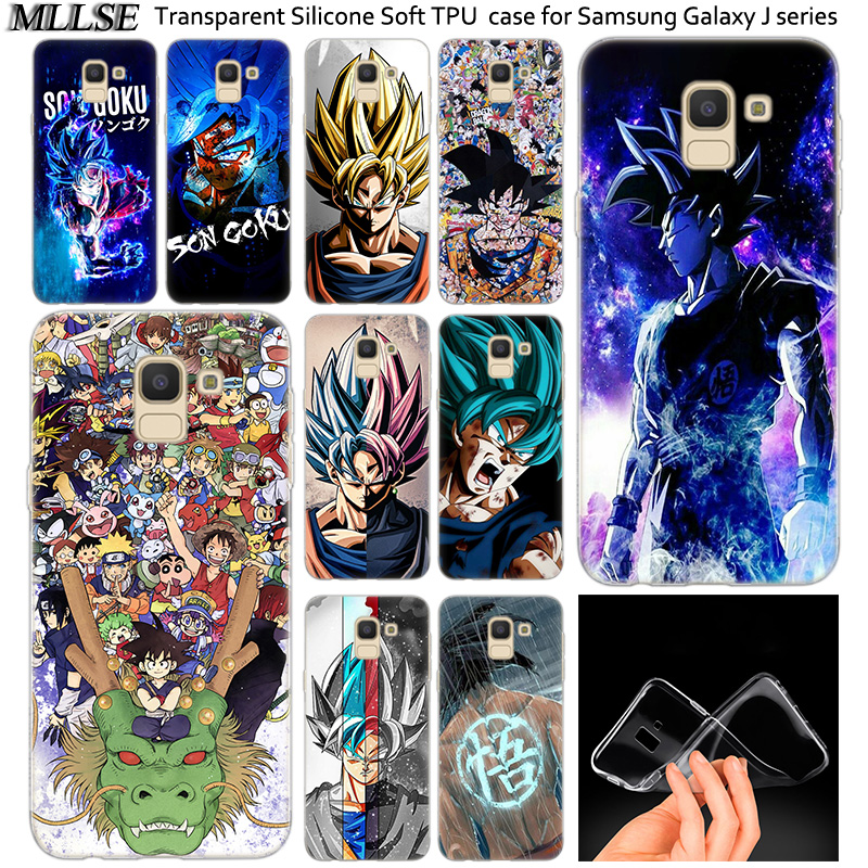 Anime Dragon Ball Goku Silicone Case For Samsung Galaxy J2pro J4 J6 J8 2018 J3 J5 J7 2016 2017eu Prime Core Plus Fashion Cover Street Price Fitted Cases