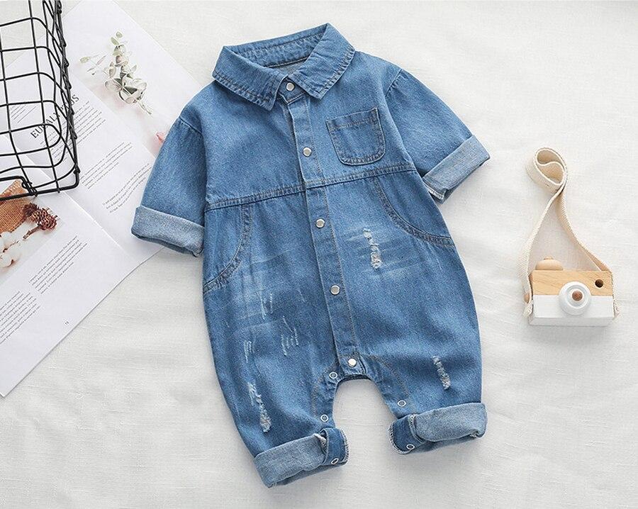 1f2f6f3814ff IYEAL New Arrivals Soft Denim Baby Romper Infant Clothes Newborn Jumpsuit  Babies Boy Girls Costume Cowboy Fashion Jeans Children