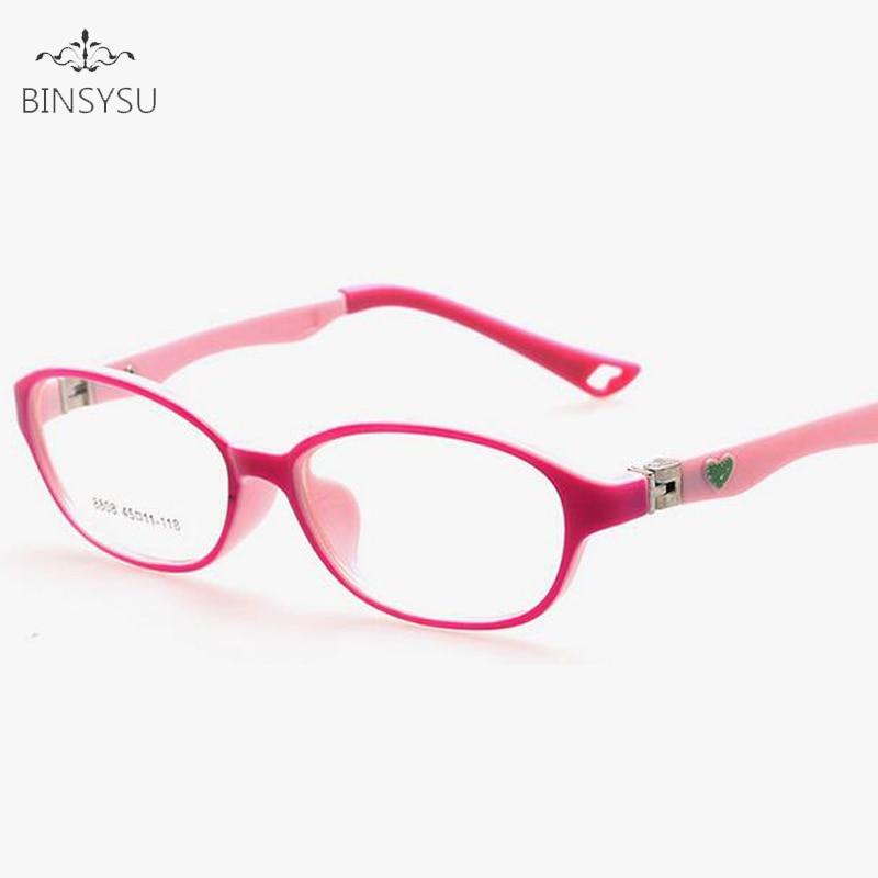 Tienda Online Miopía tr90 óptico Gafas niños marcos caucho flexible ...