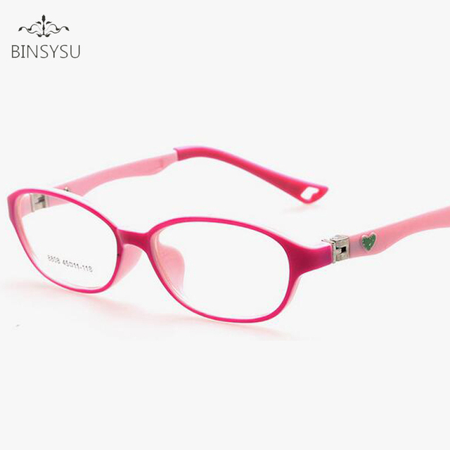 cf511eef33 Myopia TR90 Optical Eyeglasses Kids Frames Rubber Flexible Glasses Girls  Boys Myopia Lense TR Children Spectacle