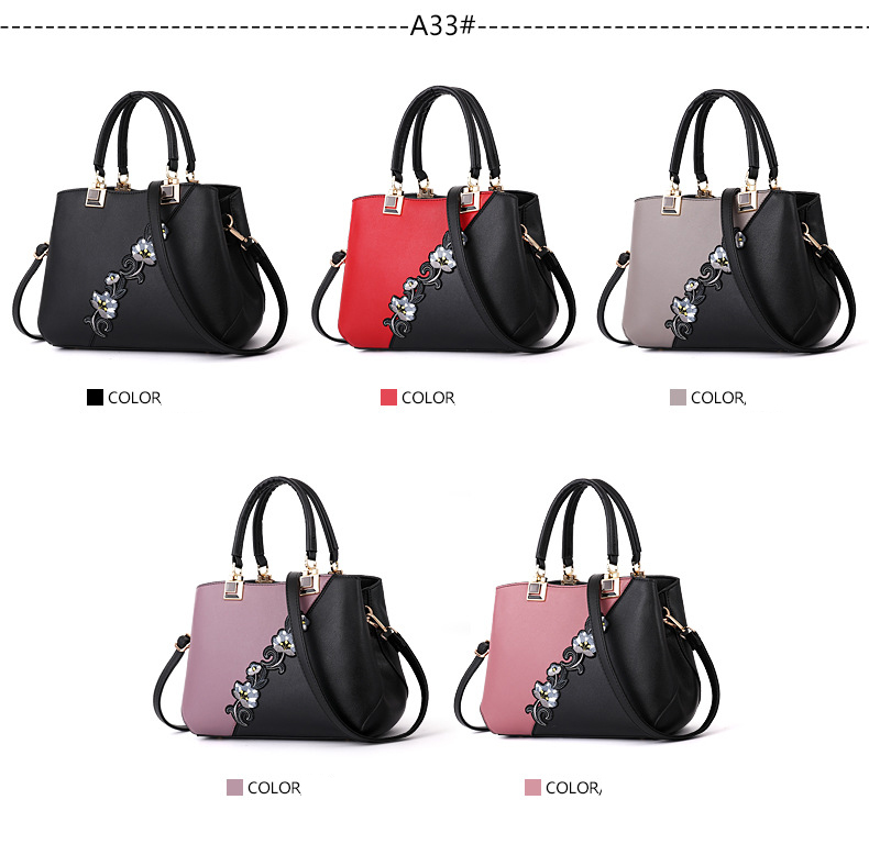 18 New women Handbags Fashion leather handbags Shoulder Bag women top-handle bags 2