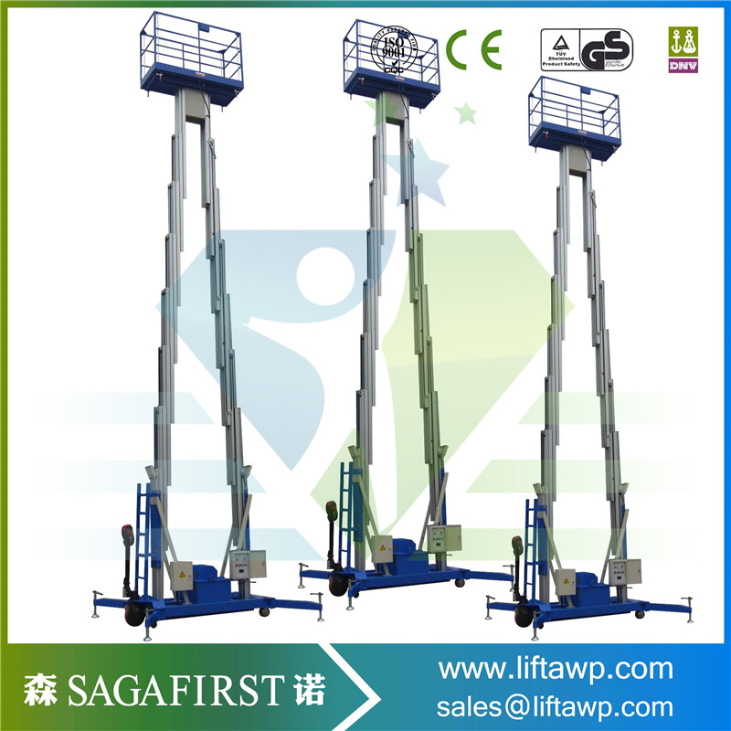 Electric Battery Power Hydraulic Aerial ManLift