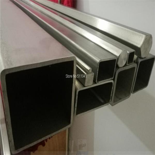 2pcs Titanium square tube 85mm*85mm*4.0mm*600mm Grade 2 Gr.2 Gr2 titanium metal Trangle Corner SEAMLESS tube,free shipping
