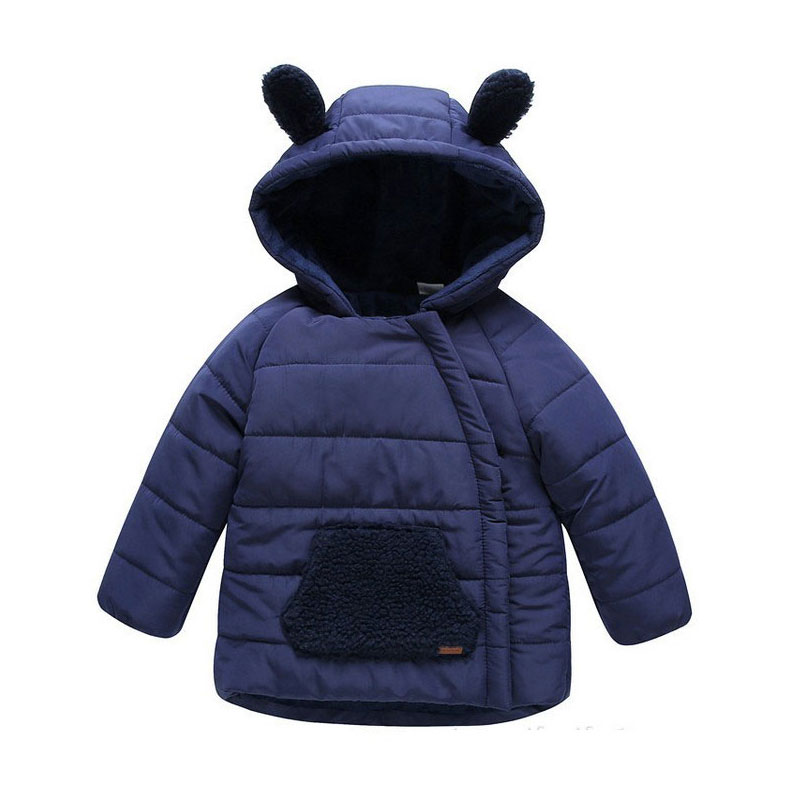 New Winter Children Boys bear Jackets  Girls Winter Coat Kids Outerwear Baby Boys/Girls Down Jacket Infant Clothes children winter coats jacket baby boys warm outerwear thickening outdoors kids snow proof coat parkas cotton padded clothes