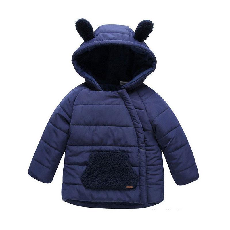 New Winter Children Boys bear Jackets  Girls Coat Kids Outerwear Baby Boys/Girls Down Jacket Infant Clothes