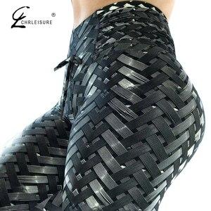 Image 1 - Women Leggings High Waist Leggings For Fitness Feminina Workout Jeggings 3D Printed Leggings 4 Color