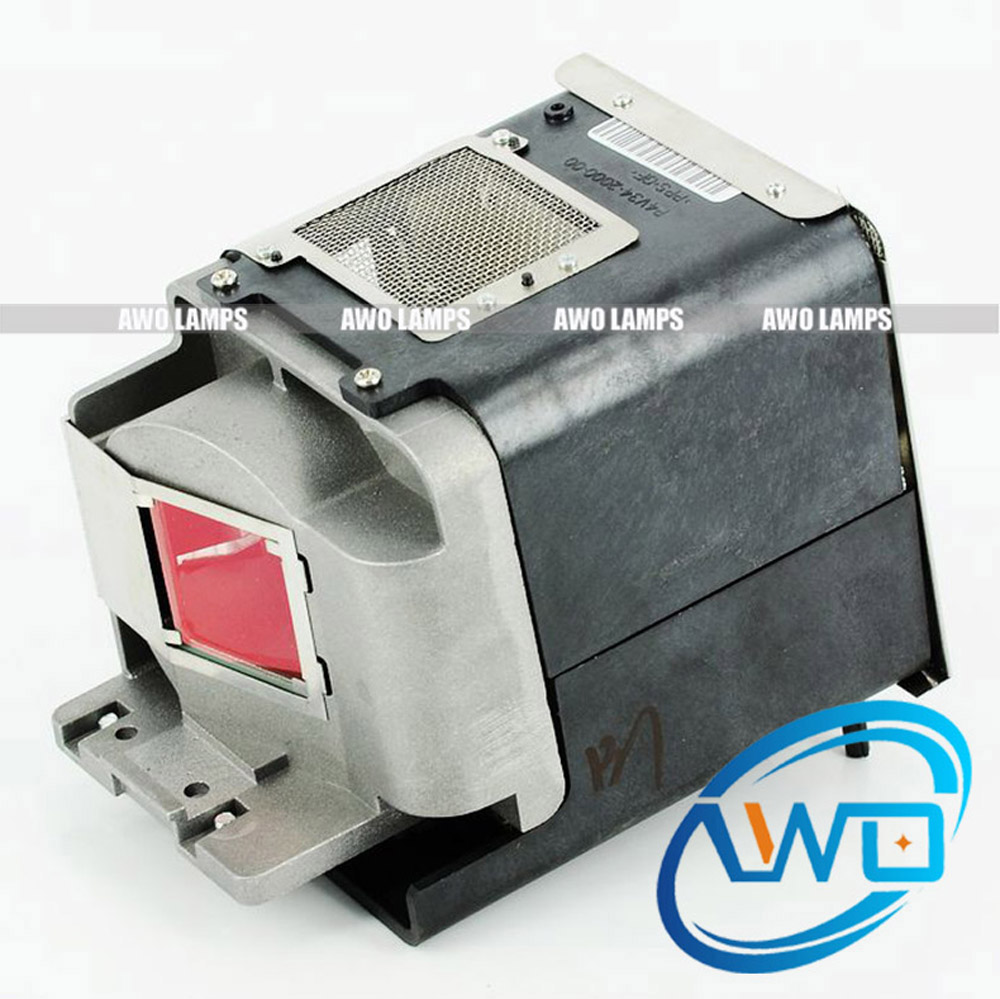 AWO Quality Replacement Projector Lamp with Housing RLC-061 for VIEWSONIC Pro8200/Pro8300