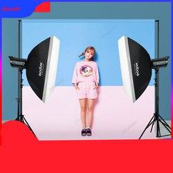Godox 600D Double Light Set Flash Studio Indoor Portrait Professional Studio Lights CD50 T07