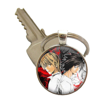 Naruto Luffy Bleach Black Butler Death Note Bleach Attack on Titan  Death Note Tokyo Ghoul Keychain Keyring