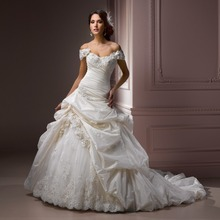 Hot selling designer bridal gowns custom made in china elega