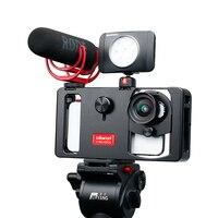 Ulanzi U Rig Metal Handheld Smartphone Video Rig Vlog Setup Handle Grip Stabilizer w Phone Lens for iPhone Huawei Videomakers
