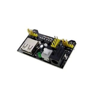 Image 1 - 最高の価格! 20ピース/ロットmb102圧着ブレッドボード電源モジュール3.3ボルトまたは5ボルト