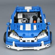 Decool  Lepin Technic 20053 motor Series Hatchback Type RC Car MOC-6604 Building Block Children Remote Control Car Brick