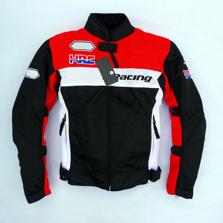 Summer Motorcycle Riding Jacket For Honda Off Road Mesh breathable protective clothing Coat with Protector jersey motocross moto in Jackets from Automobiles Motorcycles