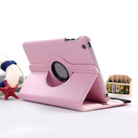 Tablet Case 360 Degree Rotating PU Leather Stand Flip Folio Screen Protector Cover Film Pen For