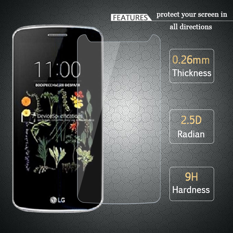 RONICAN FOR LG K5 Tempered Glass 0.26mm 2.5D 9H Screen Protector For LG