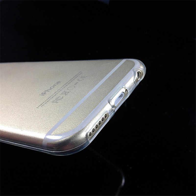 حافظة لهاتف آيفون X Xs max XR 5 5s se 6 6 s Plus جراب هاتف ملحقات للهاتف المحمول ماركة فاخرة funda لهاتف أبل آيفون 7 8 Plus