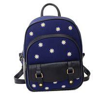 Nieuwe mode Beroemde Merk vrouwen School rugzak bloemen vrouwelijke rugzakken Student dubbele schoudertassen B0647 groothandel