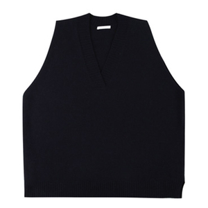 Image 4 - 2018 Winter Mens Slim Fit Sleeveless Cashmere Knitting Woolen Pullover Casual Sweater Waistcoat Vest V neck Sleeve Single Knit