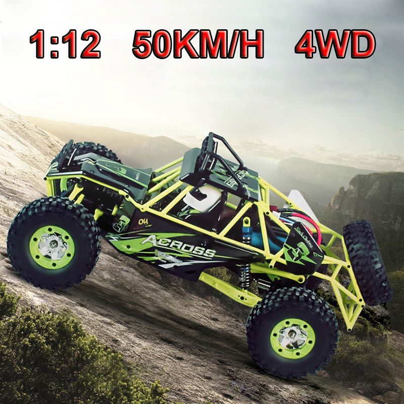 WLtoys 12428 RC Car 4WD 1:12 Racing Car Child Gift Toy Car Remote Control Climbing Truck wltoys 12428 12423 1 12 rc car spare parts 12428 0091 12428 0133 front rear diff gear differential gear complete