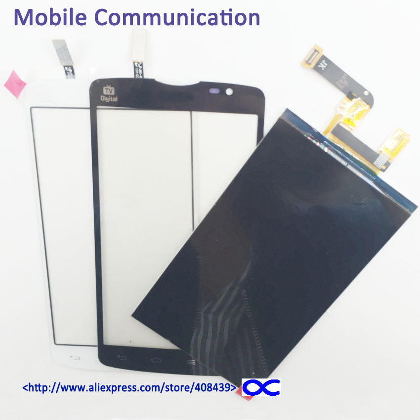 LCD Display + Touch Screen Digitizer For LG Optimus L80 D385 LCD Touch Panel with Logo