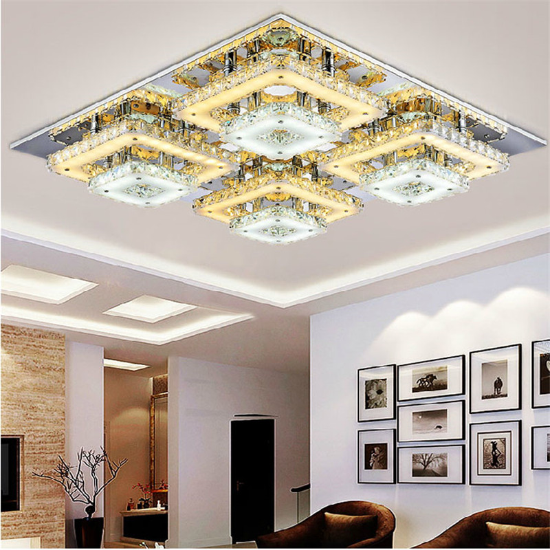 cordless art lighting fixtures. art deco remote control square flush mount crystal ceiling lights fixture foyer led wireless living room lampin from cordless lighting fixtures